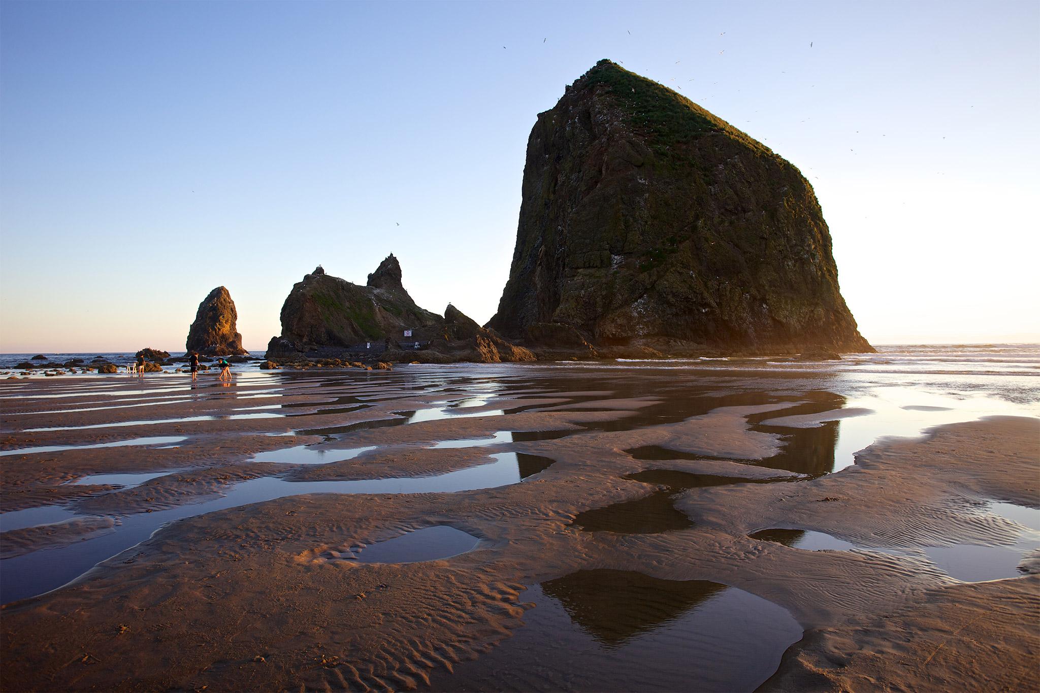 Cannonbeachphoto Cannon Beach Haystack Rock Photos Original