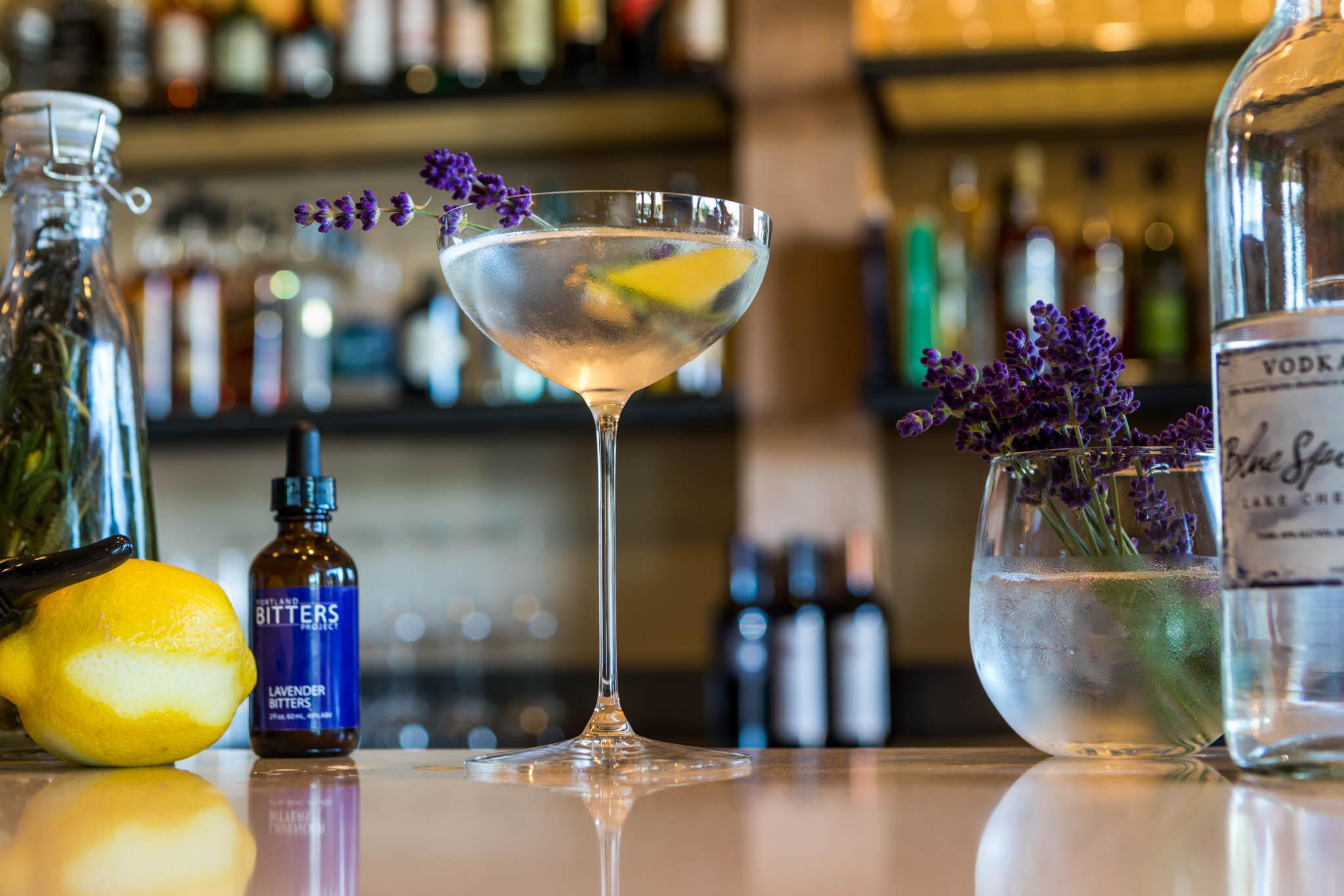 Lavender Martini 1